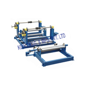 Rewinding Machine with Web Guide System