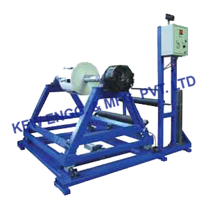 Unwinding Machine with Web Guiding System